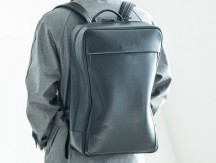 objcts.io防水レザー製バックパックSoft Backpack Large