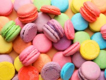 Many,Tasty,Macarons,As,Background