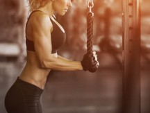 Muscular,Fitness,Woman,Doing,Exercises.concept,Of,Healthy,Lifestyle.,Cross,Fit